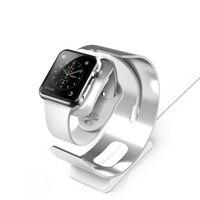 Requintado suporte de alumínio para apple relógio estação carregador doca carregamento suporte para apple relógio carga 3/2/1 38mm 42mm p15