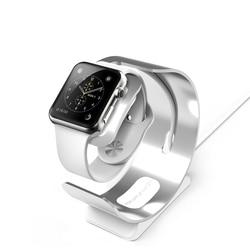Znakomity aluminiowy uchwyt do Apple Watch stacja ładująca Dock uchwyt do ładowania stojak do Apple Watch Charge 3/2/1 38mm 42mm P15