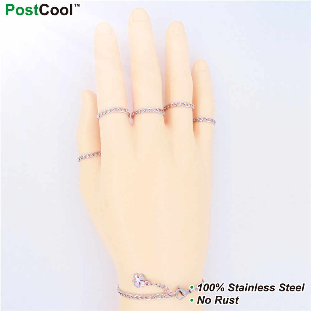 3MM Width BlNK Stlye Stainless Steel Chain/Chain Necklaces 40/45/50/55/60/65CM Long/Wrist Chains 18/20/22CM Long/ Finger Chains