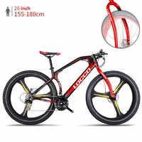 Neue marke Mountainbike 3,0 zoll Breite Reifen Stahl Rahmen 26 inch integral Rad Alle gelände off-road Schnee strand Sport Fahrrad