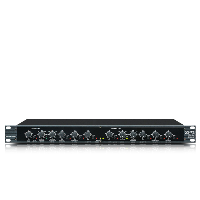The 234XL is a stereo three way stereo two way and mono four way electronic crossover