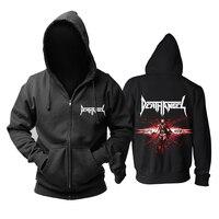 Bloodhoof death angel speed metal Act III /Sonic German Beatdown album cover new black cotton hoodie Asian Size