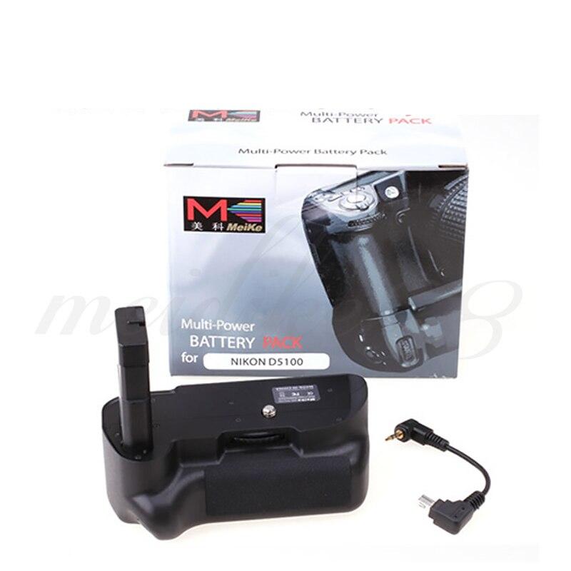 ФОТО Brand New Meike MK-D5200 Vertical Camera Muti-Power Battery Grip Holder Pack for Nikon D5200 DSLR EN-EL14 free shipping