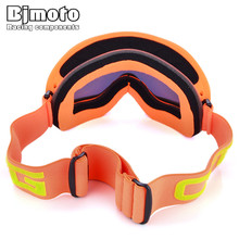 цена на Winter Sports Skiing Snowboard Snowmobile Ski Eye wear Goggles Double-Lens Anti Fog Dustproof goggles Anti-UV snow ski glasses