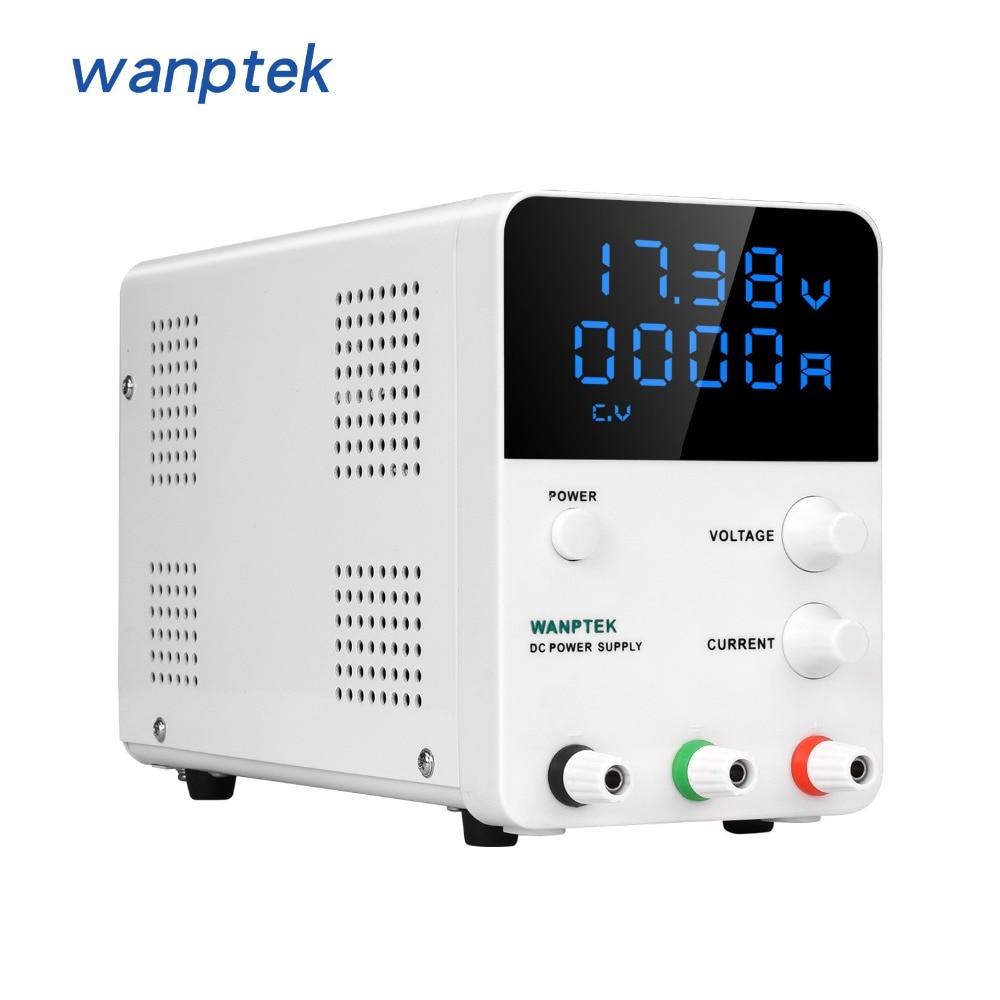 Wanptek GPS605D Switch DC Power Supply Digital Display Adjustable Laboratory Power Source 60V 5A 30V 10A