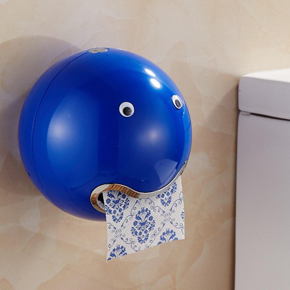 Ball Shaped Cute hot-Bathroom Toilet Waterproof Toilet Paper Box Roll Neu DE