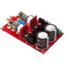 6N2 Tube Preamplifier Rectifier Circuit Board Pre-AMP Amp KIT srpp good for DIY NEW Volumn adjustable YJ цена 2017