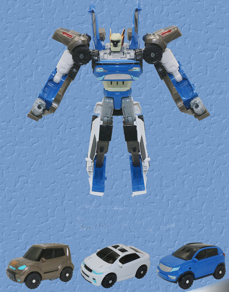 Tobot 3 In 1 Robot Toys Xyw Deformation Action Figure Merge Car Children Cartoon Animation Model Set in Action Toy Figures from Toys Hobbies