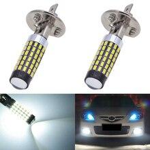 Katur H1 светодио дный лампы Высокое качество Противотуманные фары дальнего ходовые 6000 К Авто светодио дный s для универсальных моделей автомобилей