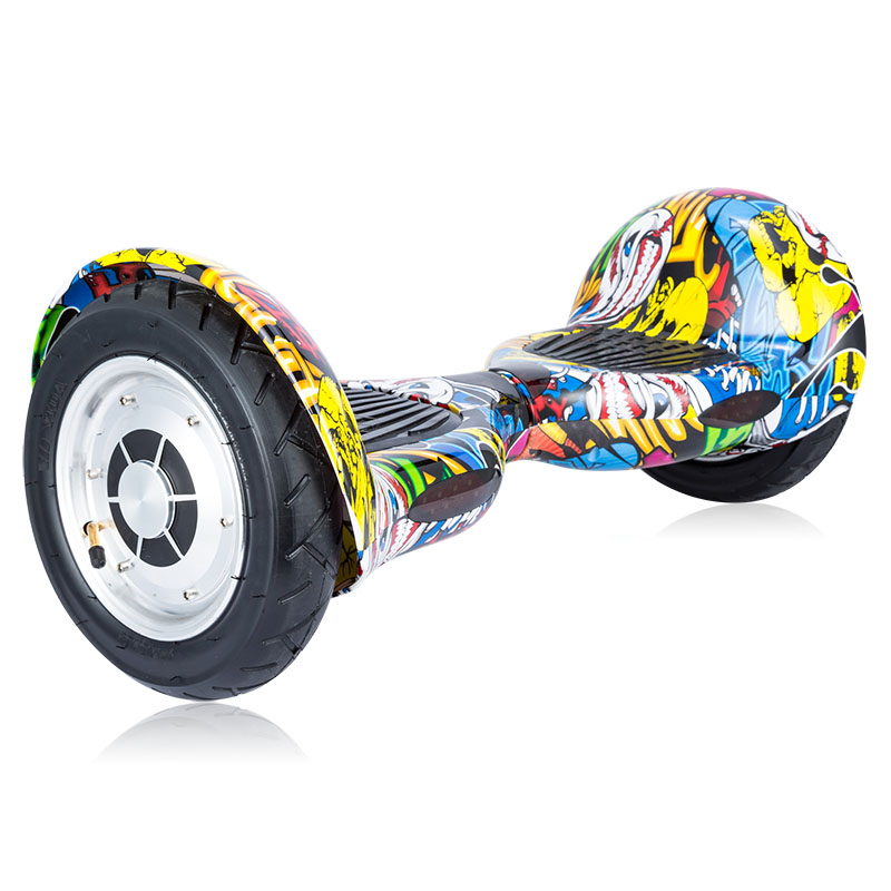 Электрический ХОВЕРБОРДА скутер Smart Balance 2 колесный Электрический скейтборд трамвай Смарт скутер двухколесный гироскутер самостоятельно о... - 3