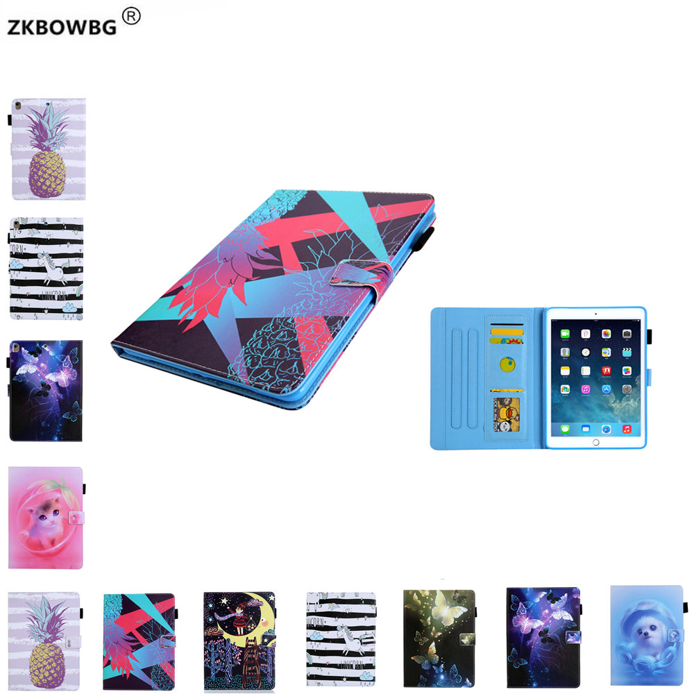 For iPad Air 2 Air 1 Case For Ipad 9.7 2017 2018 Soft TPU Back Pu Leather Cover for iPad 2018 6th generation Sleeve Pouch Bags