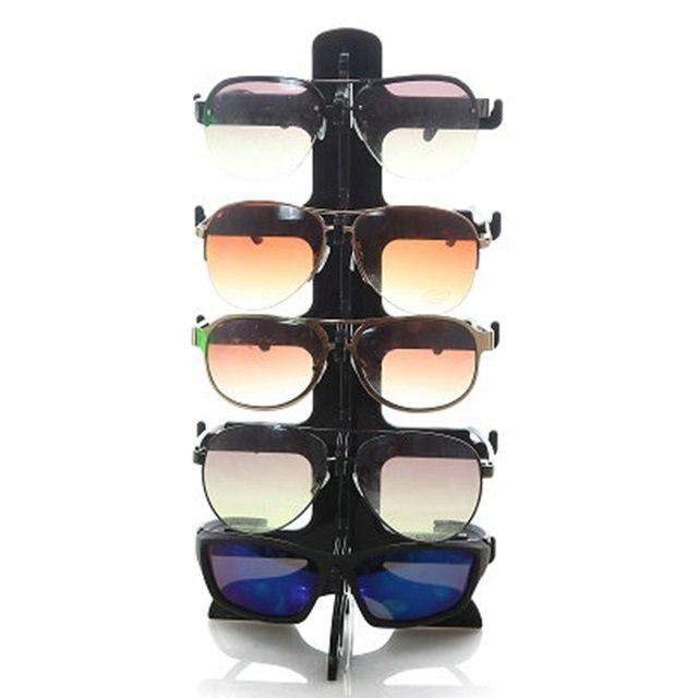 3776da73 US $3.22 30% OFF 5 warstw okulary przeciwsłoneczne rama z tworzywa stojak  na okulary okulary okulary kolorowe okulary licznik pokaż stojaki stojak ...