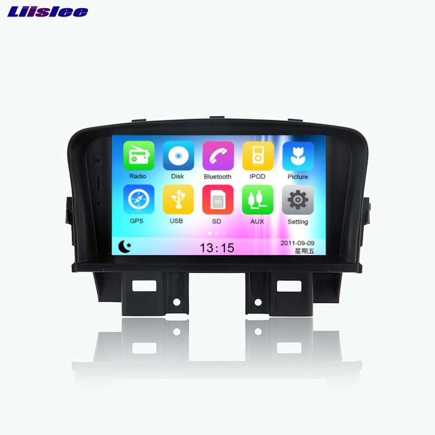 Liislee pour Holden/Chevrolet Cruze Android voiture Bluetooth stéréo GPS Navigation lecteur DVD multimédia Audio vidéo Radio