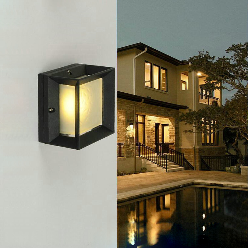 Hotel Exterior Wall Lights : Led porch lights outdoor sconces wall outdoor lights waterproof outdoor wall light for villa led ...