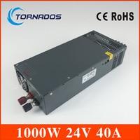 LED display switching power supply LED transformator 220v 24v 1000w power supply S 1000 24