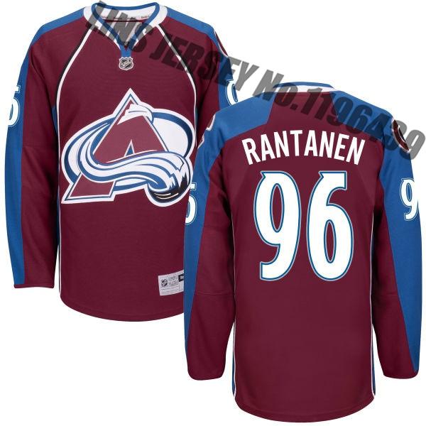 brand new a8fdb b525d Mikko Rantanen Jersey Men's Colorado Avalanche #96 Adult ...