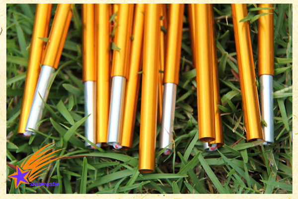 Yellow Dia 7.9mm*3.6m(11pcs*32.3cm) Aluminum Alloy Replacement Spare Tent Poles Free Shipping-in Tents from Sports u0026 Entertainment on Aliexpress.com ... & Yellow Dia 7.9mm*3.6m(11pcs*32.3cm) Aluminum Alloy Replacement ...