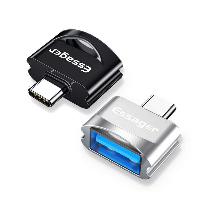 USB-C وتغ تحويل نوع C وتغ محول USB C الذكور إلى USB الإناث كابل محولات ل ماك بوك Xiaomi هواوي سامسونج القرص فلاش