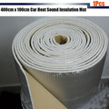 Free Shipping ! 1Pcs 400cm x100cm Aluminum Foil  Car Sound Proofing Heat Shield Insulation Mat Carpet Deadening Deadener