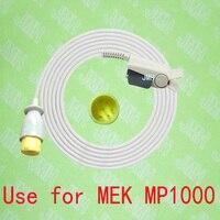 Compatible with 8pin MEK MP 1000 Pulse Oximeter monitor ,Adult finger Nellcor clip spo2 sensor.