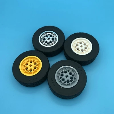 Wheels, Technical, Car, Blocks, Tires, Compatible