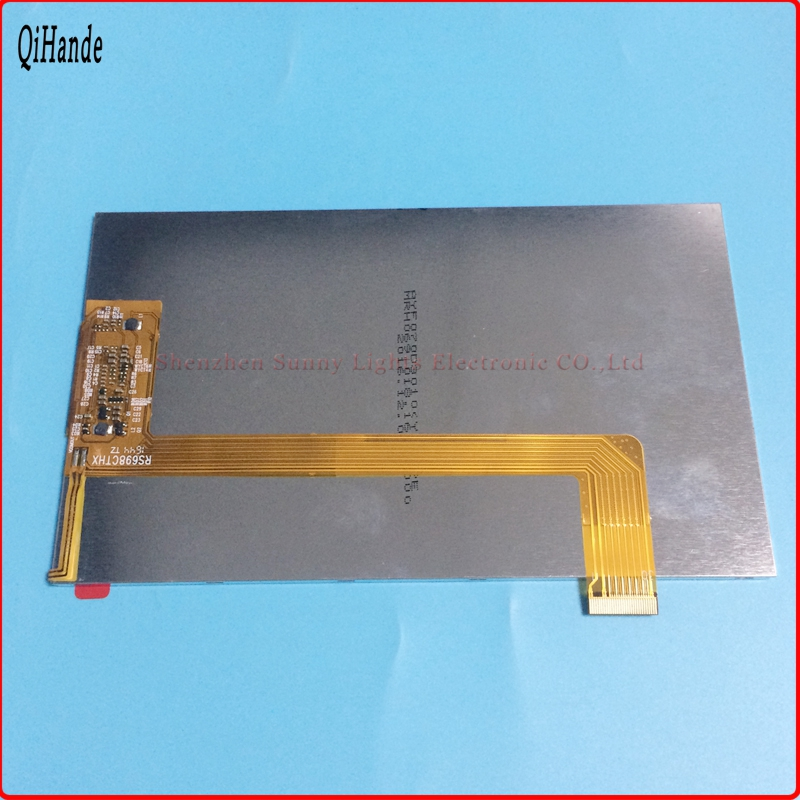 New LCD display matrix For 7 Irbis TZ709 3G RS698CTHX Tablet inner LCD Screen Panel Module Replacement Irbis TZ 709 3G LCDScree new lcd display screen panel matrix replacement for 7 irbis tz62 irbis tz 62 tablet inner lcd display module free shipping