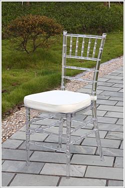 Купить с кэшбэком clear resin tiffany banquet chiavari chair
