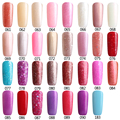 Color61-90 of 186 Nail Gel Polish Gel Long-lasting Soak-off Gel Nail LED Led Shining Colorful UV Nail Gel Coat + UV Base Coat