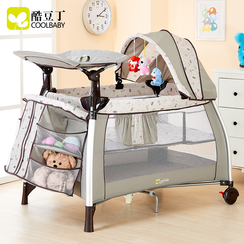 Coolbaby multifunctional baby bed portable game bed fashion crib folding baby bed bb valdera portable folding baby crib multifunctional bed bb bed newborn game nets