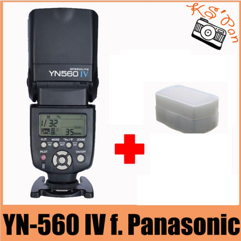 Yongnuo YN560IV YN560 IV YN 560 Flash Speedlite 1/200S - 1/20000S Sound Indicator For Canon Nikon Olympus Pentax Wireless yongnuo yn 560 iv yn560iv yn560 iv universal wireless flash speedlite for canon nikon pentax olympus fujifilm panasonic gh4 gh3