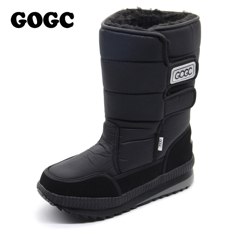 GOGC Russian Famous Brand Warm and Comfortable Winter Boots for Men High Quality Men's Winter Boots Snow Male Winter Men Shoes russian phrase book