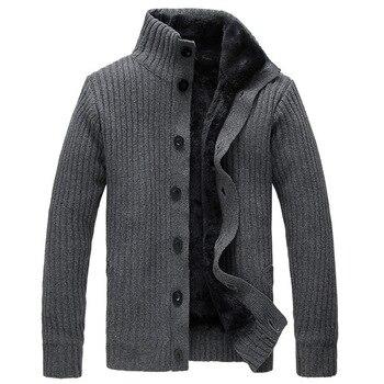 Merk Trui Heren.Man Lente Lange Mouwen Trui Winter Mannelijke Mode Warme Dikke Breien Jas Heren Beroemde Merk Vest Truien B81004