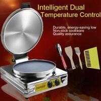 1PC Commercial Electric Pancake Scones Naan Bread Maker Machine Winonstick Aluminum Pan diameter 37.7cm Hot
