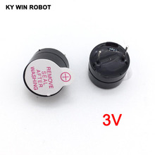 10pcs 3v Active Buzzer Magnetic Long Continous Beep Tone Alarm Ringer 12mm MINI Active Piezo Buzzers Fit For Arduino Diy Electro(China)