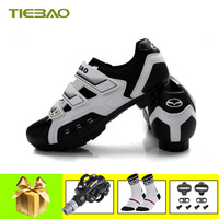Tiebao sapatilha ciclismo mtb cycling shoes pedals 2019 men women mountain bike shoes self locking breathable superstar sneakers
