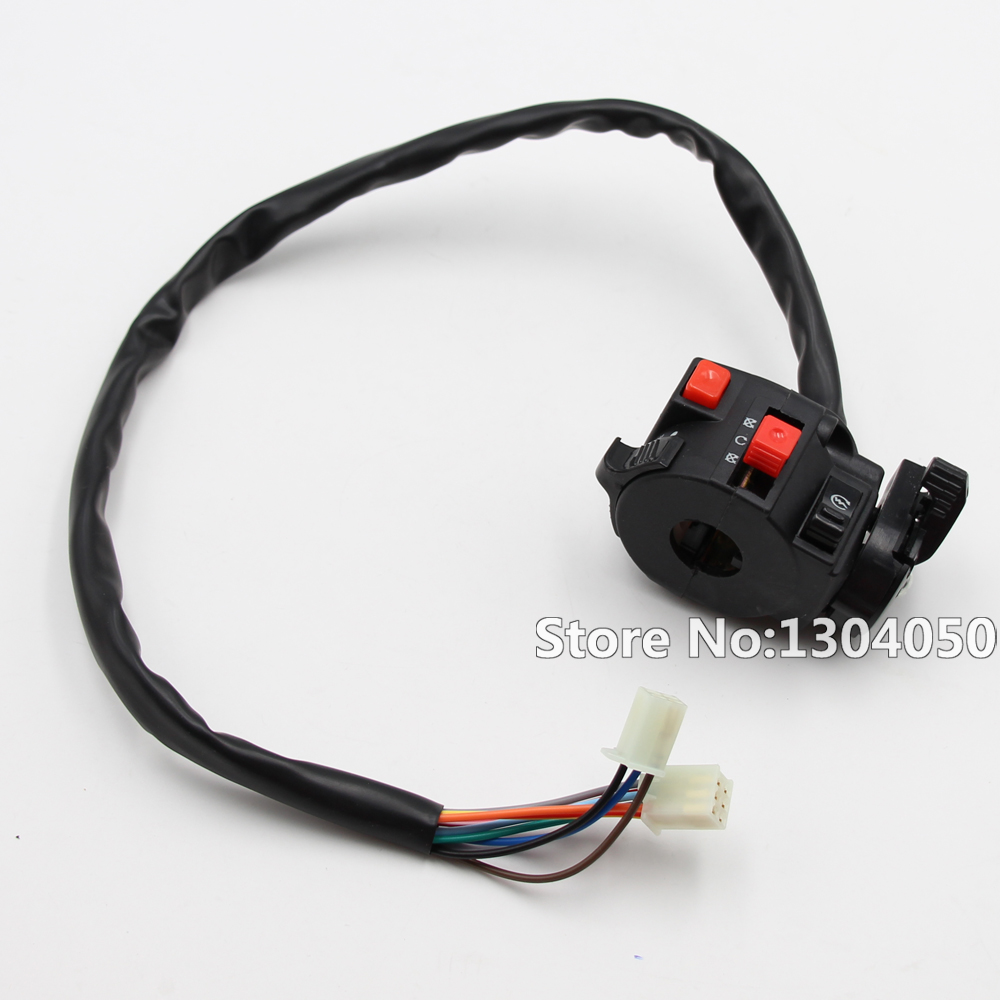 Quad Wiring Harness Multi Functional Atv Switch Cb Cg 150cc 200cc 250cc Chinese Electric Start Loncin Zongshen Ducar Lifan New In Motorbike Ingition From
