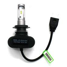 Modifygt S1 H4 Led Headlight bulb H7 led 9005/HB3 9006/HB4 Car bright Automotive car styling 12V 50W 8000LM 6000K