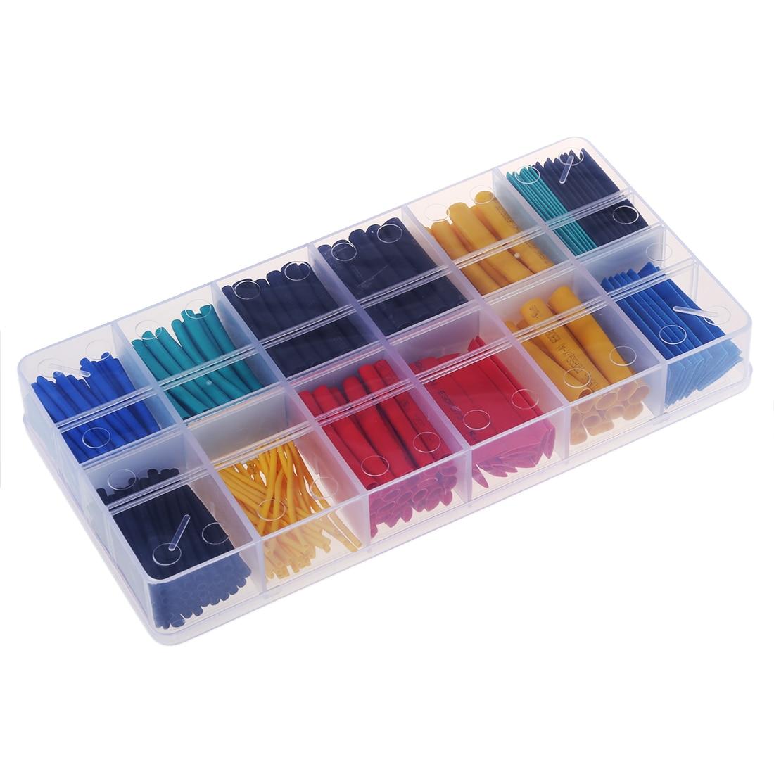 280pcs Shrink sleeve Shrink Tube thermosetting box 1 to 10mm 2: 1 Ratio280pcs Shrink sleeve Shrink Tube thermosetting box 1 to 10mm 2: 1 Ratio