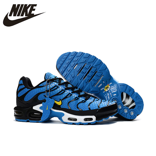 online store e4b28 88099 New Arrival Official NIKE AIR MAX TN Men s Breathable Running shoes Sports  Sneakers platform KPU material Tennis shoes 40-46