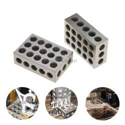 2pcs/set Hardened Steel Parallel Blocks 0.005