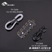 Bykski B-MBDT-1TO10, материнская плата Aura концентраторы, 3Pin/4Pin Motherborad интерфейс Aura от 1 до 10 концентратор