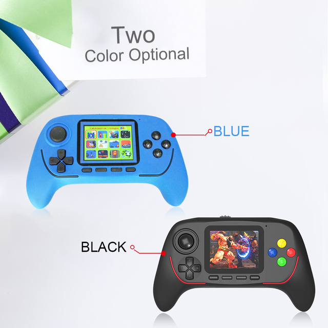 New Game Console 16 Bit Wireless Retro Gamepad Handheld Portable Game Player Built-in 100 Classic Games Gift for Kids Children