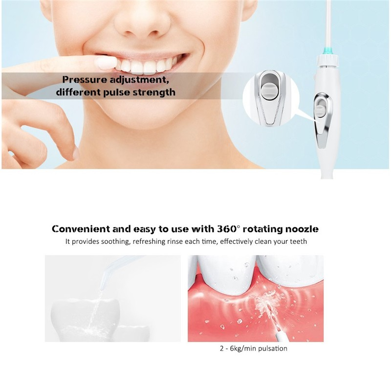 Pro Teeth Whitening Oral Irrigators SPA Water Jet Family Dental Flosser Teeth Care Toothbrush Sets Oral Hygiene Products
