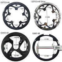 MTB Road Bike Sprocket Protection Chain Wheel Protector Crank Ring Mud Protective Cover Bicycle accessories 40 42 44 46 48 52T