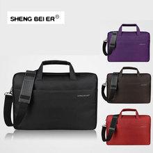 17.3 Crushproof Laptop Bag 15.6 14.1 12.1 Inch Computer Bags for Men Women Handbag Briefcase Shoulder Messenger Notebook Bag