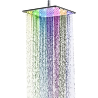 Multicolor fast Flashing led shower head Led hand shower with lights
