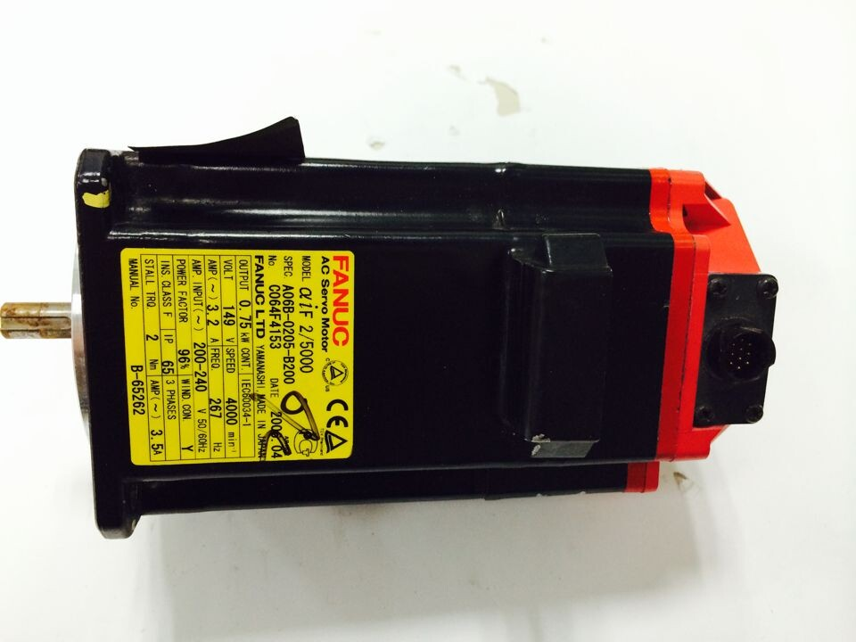 Back To Search Resultselectronic Components & Supplies Used 100% Tested A06b-0205-b200 Fanuc A06b-0205-b200 Ac Servo Motor A06b-0205-b200 Drip-Dry