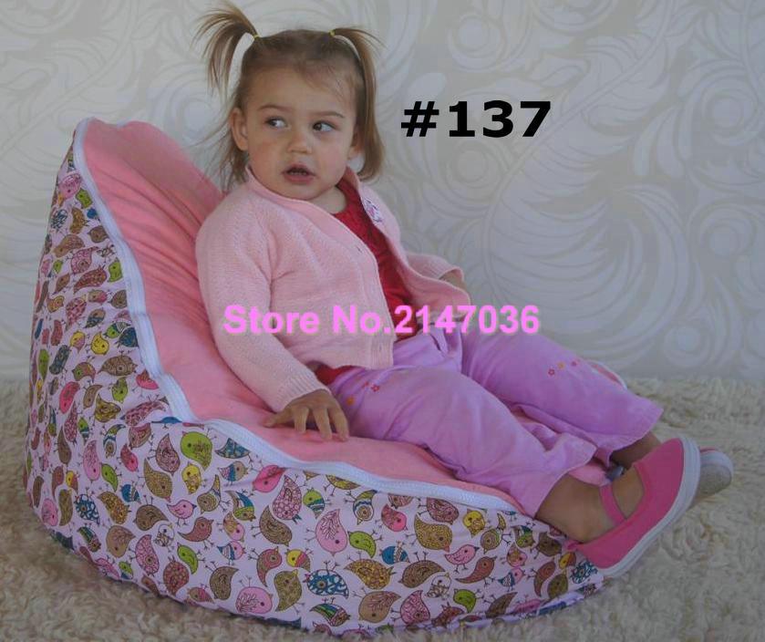 Pink Birds Baby Bean Bag Chairs/insects Design Baby Bean Bag Chair, Kids  Beanbag Furniture, Fashion Baby Seat In Living Room Sofas From Furniture On  ...