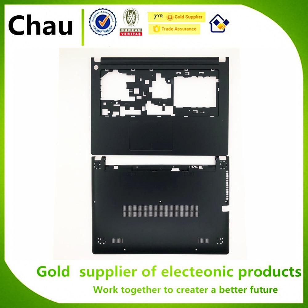 New For Lenovo Ideapad S400 S410 S405 S435 S436 Upper Case Palmrest Cover/Bottom Case Cover Black