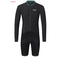 triathlon suit 2018 cycling skinsuit long sleeve sets pro ciclismo uomo triathlon speed cycling kits Ropa Ciclismo Italy fabric